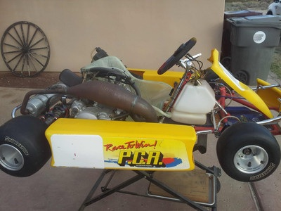 2000 PCR 125 cc shifter kart / TM engine