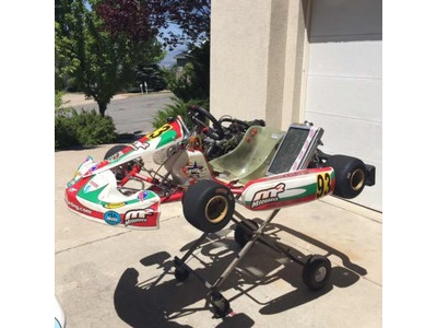 PTK Tony Kart 125cc 99 CR125 Stock Honda
