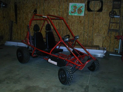 2004 Manco (2) seater go kart 10 Hp