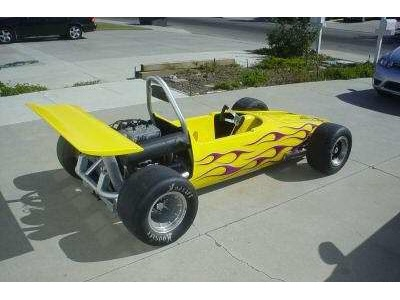 Malibu Grand Prix Race Car Go Kart