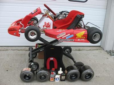 Birel Shifter Kart w Honda 125cc engine - Shifter Karts Classifieds