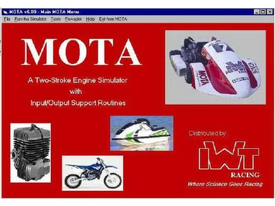 mota 2 stroke engine