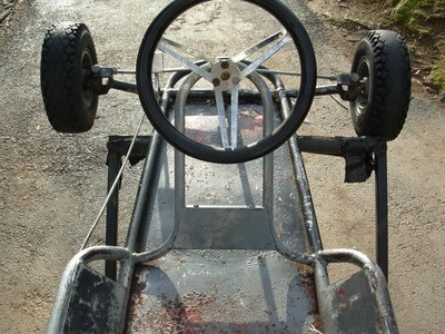 Vintage Rupp And Lancer Kart