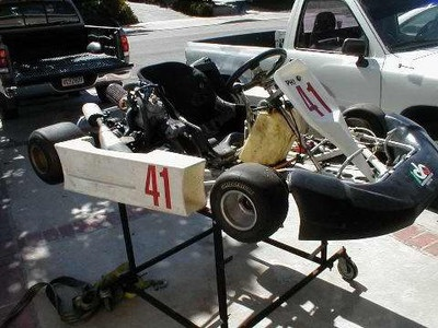 Kali CRG Shifter Kart w CR125 motor - Shifter Karts Classifieds